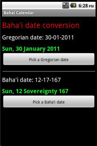 Bahai Calendar Lite