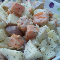 Three Potato Salad