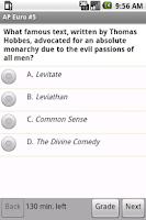 Screenshot of AP European History Exam Prep