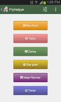 Screenshot of FlyHelper   Personal Organizer