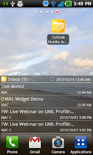 Mobile Access for Outlook OWA- screenshot thumbnail