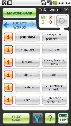 MyWords - Learn Italian