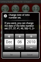 Screenshot of Lottery Shaker