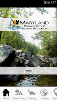 Screenshot of Maryland Access DNR