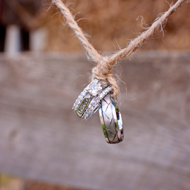Tie the Knot by Carrie Schneider - Wedding Details ( ring, cowboy, wedding, western, rings, tie the knot, country )