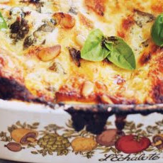 Roast Chicken And Grilled Eggplant Lasagna Recipe