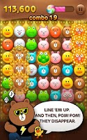 Screenshot of LINE POP