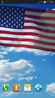 Screenshot of US Flag Live Wallpaper