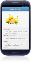 Screenshot of Belly Fat Burning Diet plan