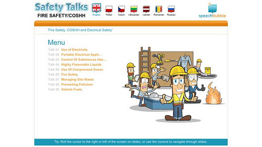 Safety Talks - Fire Safety