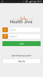 HealthJiva - screenshot