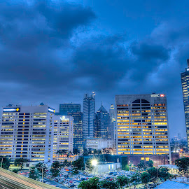 South Jakarta Office Parks by Peter Iman Paskal Mendrofa - City,  Street & Park  City Parks ( city parks, hdr, south jakarta, office parks, nikon,  )
