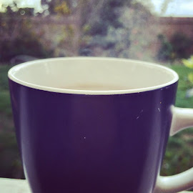 Steam drifting off my hot cup of tea .. by Mic Larkins - Instagram & Mobile Instagram ( tea, hot, drink, morningcuppa )