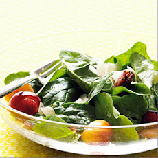 Cherry and Bacon Spinach Salad