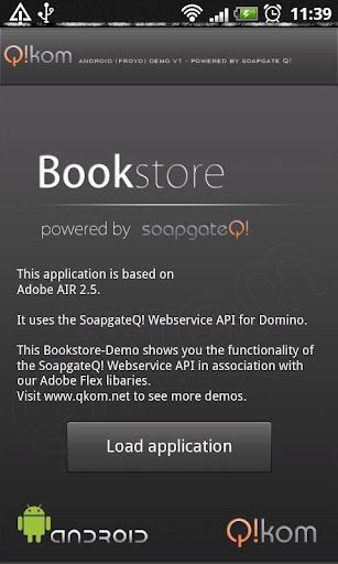 soapgateQ - bookstore demo