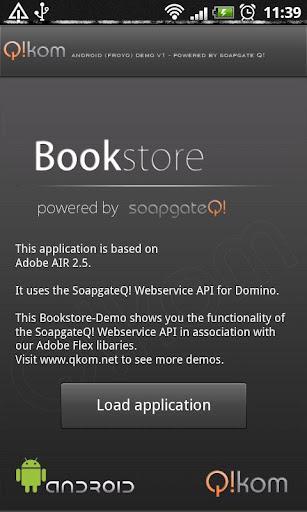 soapgateQ - bookstore demo
