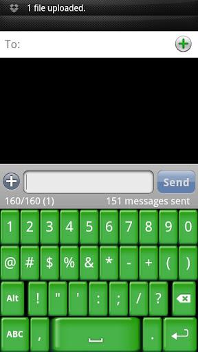 玩個人化App|Green Jelly Keyboard Skin免費|APP試玩
