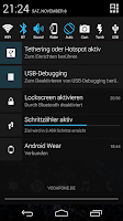 Screenshot of Notification Toggle
