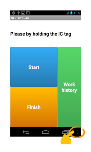 NFC Time Card