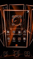Screenshot of Bionic Launcher Theme Orange