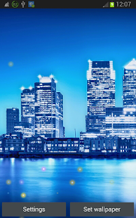Blue City Live Wallpapers - screenshot