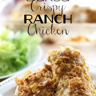 Baked Crispy Ranch Chicken