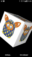 Screenshot of Furby 3D Live Wallpaper