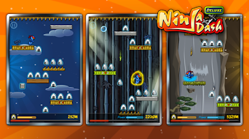 Screenshot of Ninja Dash -Deluxe