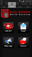 Screenshot of Free U Bail NC