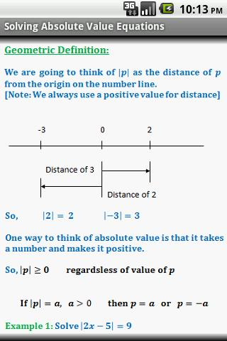 Algebra Quick Reference Pro