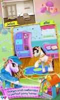 Screenshot of Pony Care Rainbow Resort