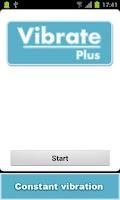 Screenshot of Vibrate Plus
