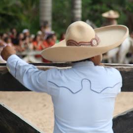 Ranchero by Ute Toschka - People Portraits of Men ( mexico, ranchero )