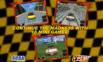 Screenshot of Crazy Taxi (International)