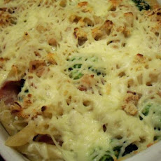 Pasta Bake With Sausage, Broccoli and Beans