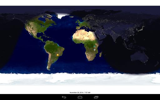 Day & Night Map - screenshot