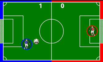 Screenshot of Football 1 vs 1 HD