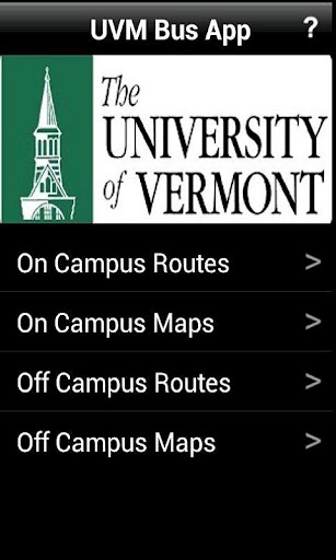 UVM Bus App