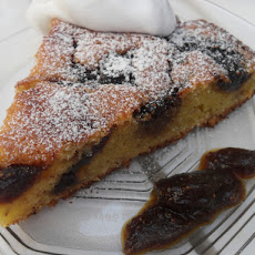 Homemade Fig Jam Cake
