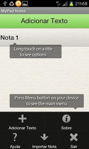 MyPad Notes Free