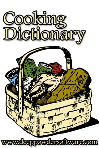 Cooking Dictionary