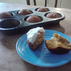 Birthday Pumpkin Muffins
