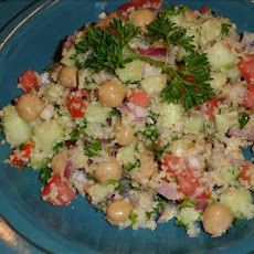 Fresh and Light Garbanzo Salad