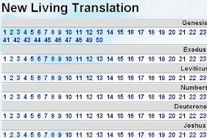 Screenshot of Bible New Living Translation