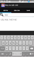 Screenshot of Đáp án bắt chữ mới nhất