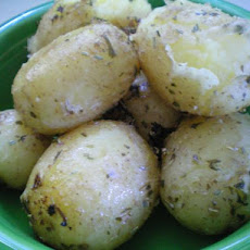 Lemon Herby Baby Potatoes