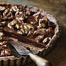 Sea-Salt Chocolate and Pecan Tart Recipe