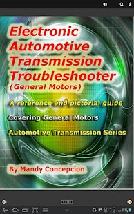 GM Transmission Troubleshooter - screenshot