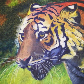 On the Prowl by Mrinmoy Ghosh - Painting All Painting (  )