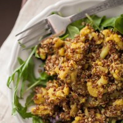 Curried Cauliflower and Quinoa Salad